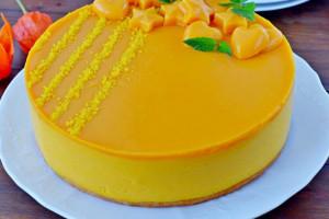 Нежный муссовый торт с тыквой и апельсинами пошаговый рецепт приготовления