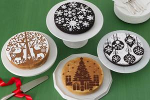 Как использовать трафареты для торта и другой выпечки