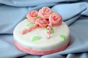 Обтяжка торта сахарной мастикой – полезные советы