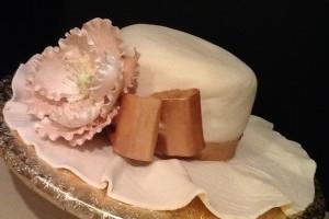 """Домашний торт с мастикой –  торт """"Шляпа"""""""