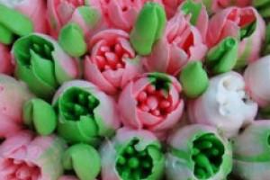 Насадки для кондитерского мешка – для создания цветов из крема