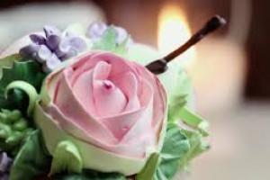 Как сделать розы из крема для украшения торта