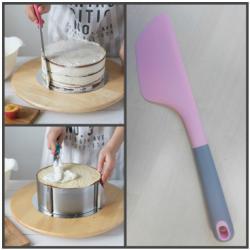 Силиконовая лопатка-нож 35 см