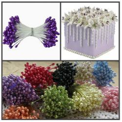 """Тычинки для цветов 240 шт """"Фиолетовые"""""""