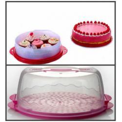 Контейнер для хранения и переноски десертов -Тортница