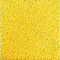 Посыпка кондитерская шарики желтые 2 мм 100 гр