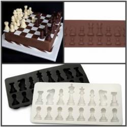 "Форма силиконовая для шоколада ""Шахматы"""