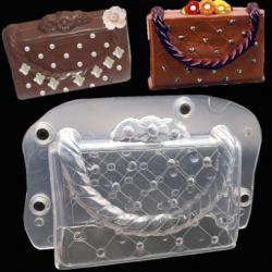 """Форма для шоколада """"Сумочка"""" 3D"""
