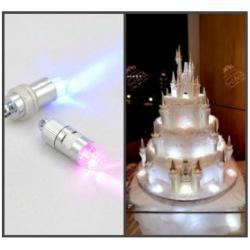 Лампочка для украшения торта (LED) розовый