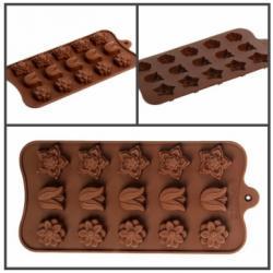 """Форма для льда и шоколада """"На полянке"""" 15 ячеек"""