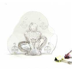 "Пластиковая форма для шоколада ""Человек Паук"" 3D"
