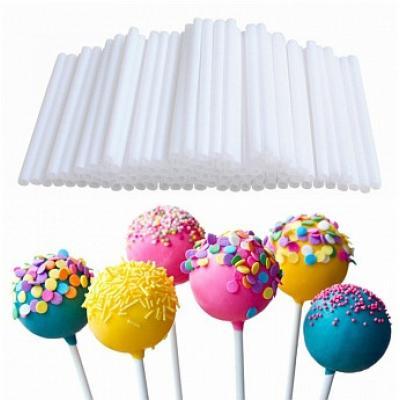 Палочки для кейк-попсов пластиковые 6-7 см 50 шт