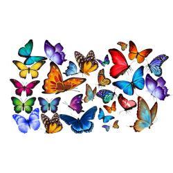 """Вафельные бабочки """"Ассорти"""" 29 шт."""