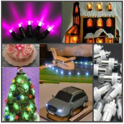 Лампочка для украшения торта (LED) фиолетовый