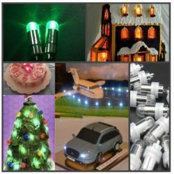 Лампочка для украшения торта (LED) зеленый