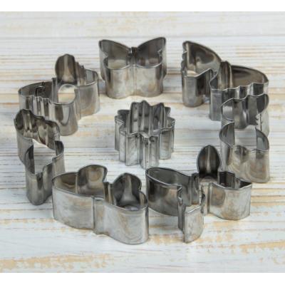 Набор форм для вырезания печенья 8 шт Бабочки