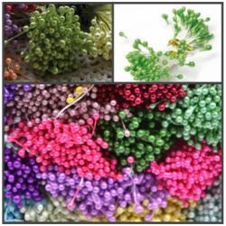 """Тычинки для цветов 240 шт """"Салатовые"""""""