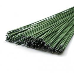 Проволока флористическая темно-зеленая 1,2 мм 20 шт