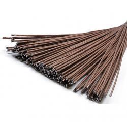 Проволока флористическая коричневая 1,2 мм 20 шт