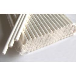 Палочки для кейк-попсов бумажные белые 50 шт