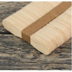 Палочки деревянные для кондитерских изделий  100 шт
