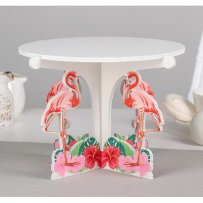 """Подставка для кондитерских изделий """"Фламинго"""""""