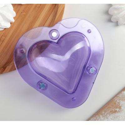 """Форма для шоколада """"Сердце"""" 3D"""