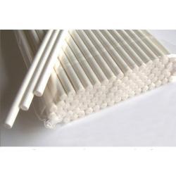 Палочки для кейк-попсов бумажные белые 10 шт
