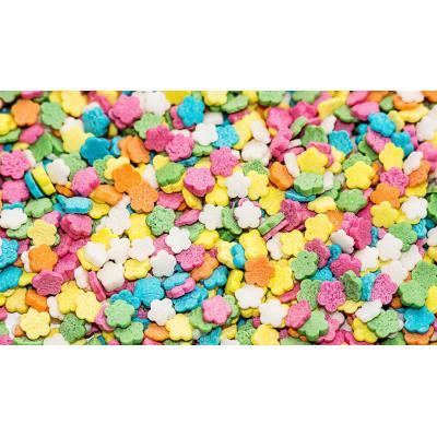 Посыпка кондитерская Маргаритки разноцветные 0,7 мм 100 гр