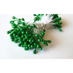 """Тычинки для цветов 240 шт """"Зеленые"""""""