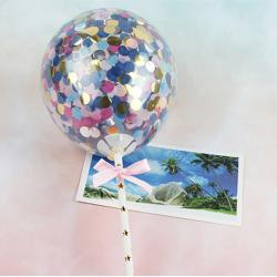 """Топпер для торта """"Воздушный мини шарик """" цветной"""