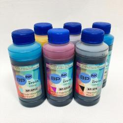 Пищевые чернила для принтера Epson - набор 6 цветов (600 мл)