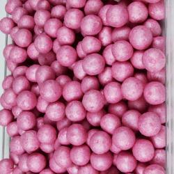 """Драже рисовое в глазури """"Розовый жемчуг"""" 12 мм"""