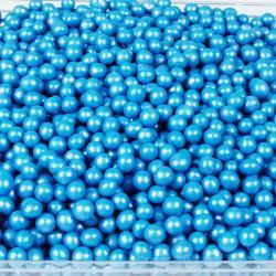 """Драже рисовое в глазури """"Голубой жемчуг"""" 6 мм"""