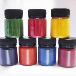 Набор натуральных пищевых красителей 7 цветов 70 г