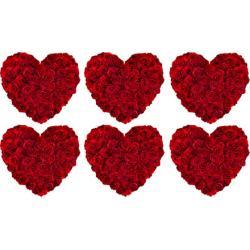 """Съедобное украшение """"Мини Сердца из Роз"""""""
