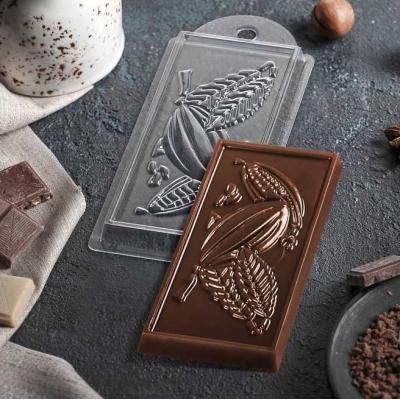 """Форма пластиковая для шоколада """"Какао"""""""