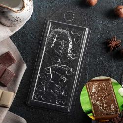 "Форма пластиковая для шоколада ""Карты"""
