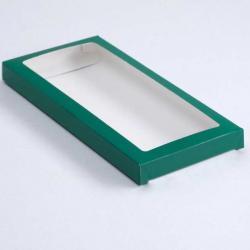 Коробочка для плитки шоколада (Зеленый)