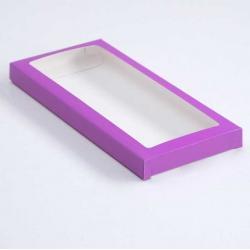 Коробочка для плитки шоколада (Фиолетовый)