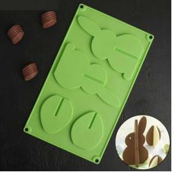 Форма для шоколада Зайчик 3D