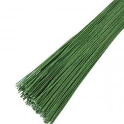 Проволока флористическая темно-зеленая 2 мм 20 шт