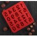 """Форма силиконовая для шоколада """"Цифры"""""""