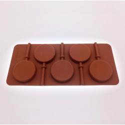 Форма для леденцов и шоколада 5 ячеек