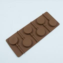 """Форма для леденцов и шоколада 6 ячеек """"Леденец"""""""