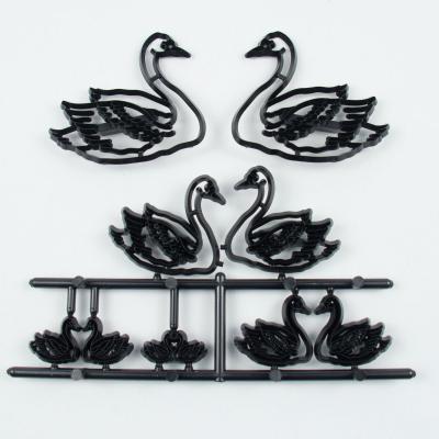 """Печать, штамп для мастики, марципана и теста """"Лебеди"""""""