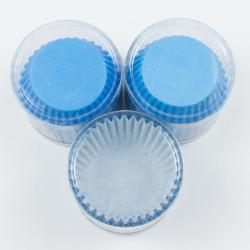 """Капсулы бумажные для кексов """"Голубой"""" 100 шт"""