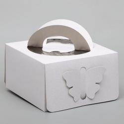 Кондитерская упаковка для торта 21 х 21 х 12 см