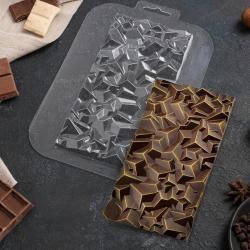 Форма для шоколада «Скалы»