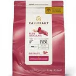 "Шоколад 47.3% ""Callebaut ruby"" 1 кг"